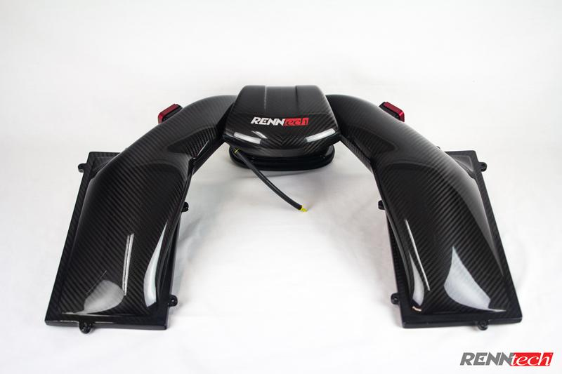 RENNtech Carbon Fiber Airbox for M156 - 63 AMG Engines