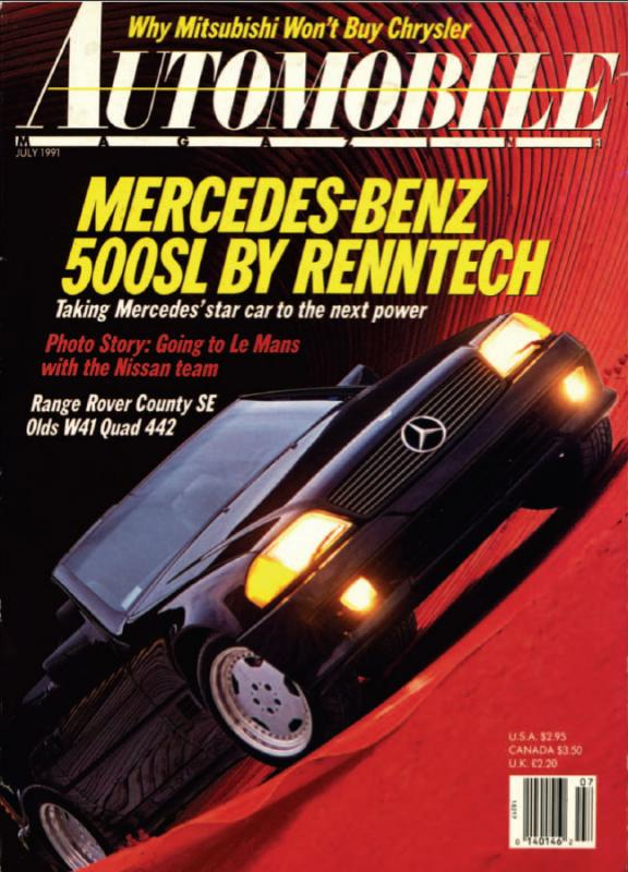 Automobile Magazine - July 1991
