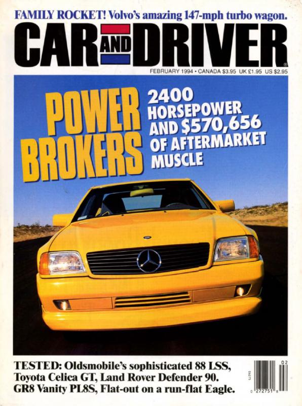 Car and Driver February 1994