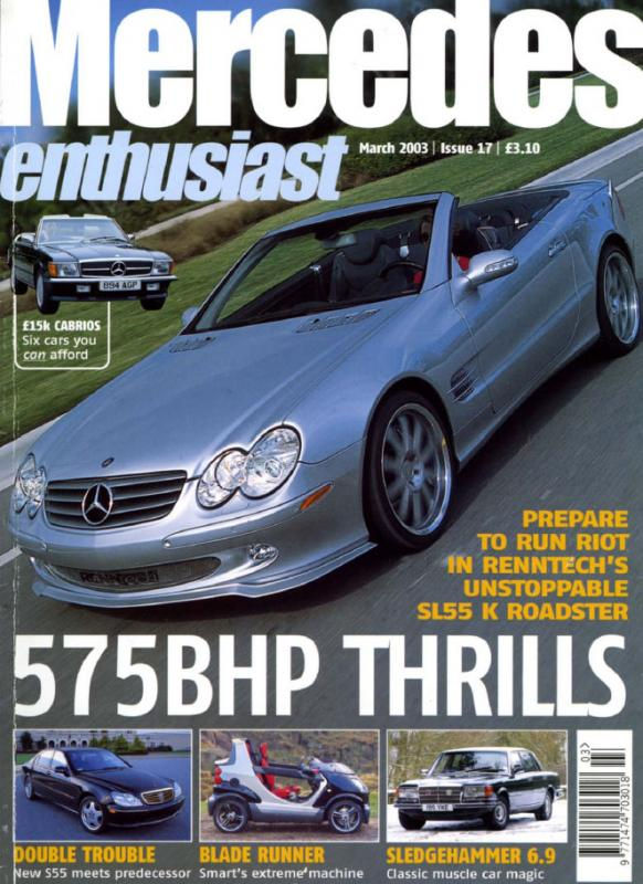 Mercedes Enthusiast - March 2003