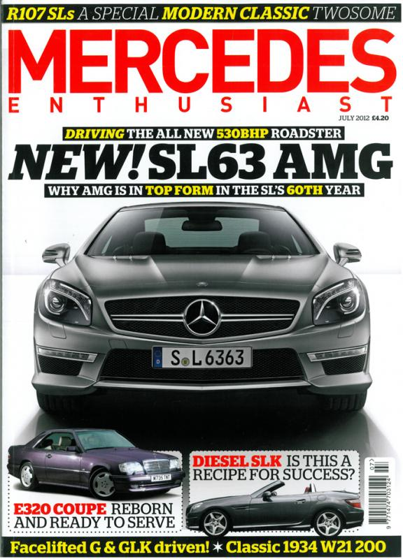 Mercedes Enthusiast - July 2012